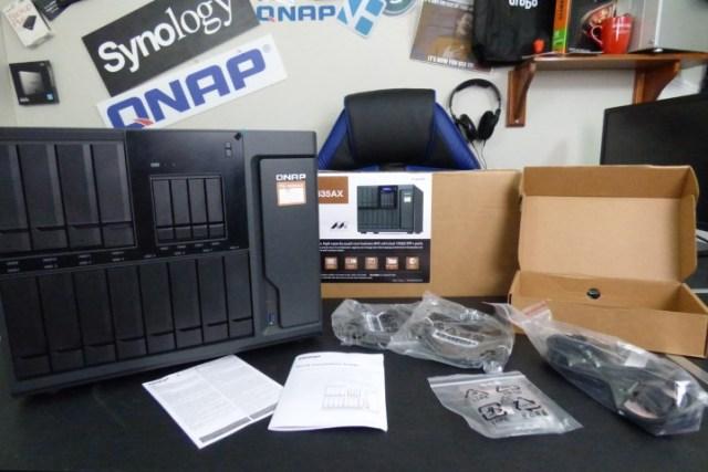 QNAP TS-1635AX 10Gbe NAS Review - NAS Compares