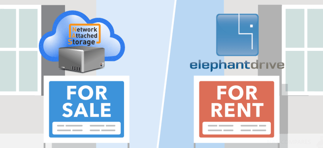 Synology or QNAP NAS Drive vs ElephantDrive Cloud - NAS