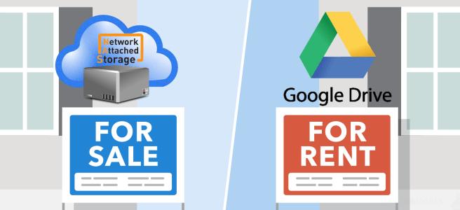 Synology or QNAP NAS Drive vs Google Drive Cloud - NAS