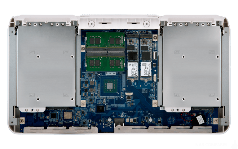 QNAP HS-453DX Fanless NAS Features Gemini Lake Processor