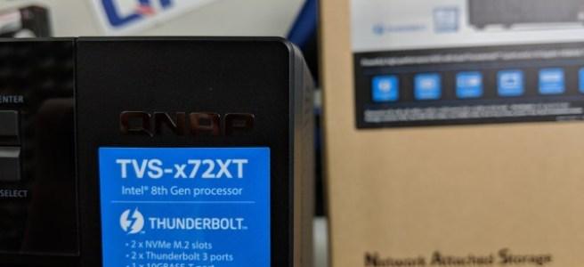 QNAP TVS-872XT Thunderbolt 3 NAS Review - NAS Compares
