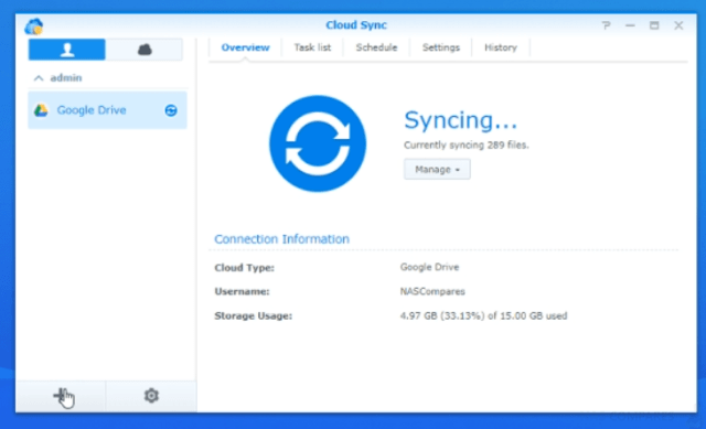 Synology DS1019+ NAS Guide Part 5 - USB, CLOUD and RTRR