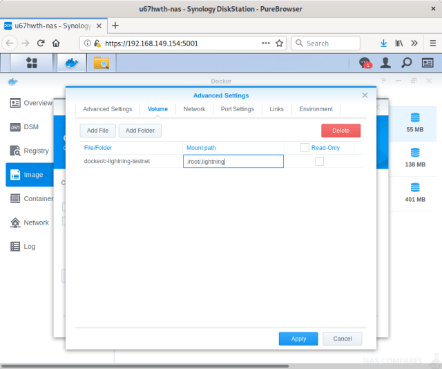 How To Run A Lightning Node On A Synology NAS Drive