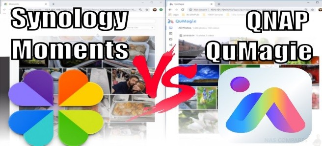 Synology Moments Vs QNAP QuMagie - Photo Recognition for NAS