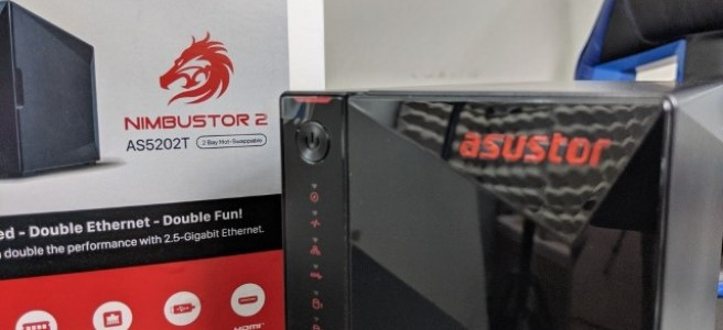 Asustor Nimbustor 2 AS5202T NAS Review - NAS Compares