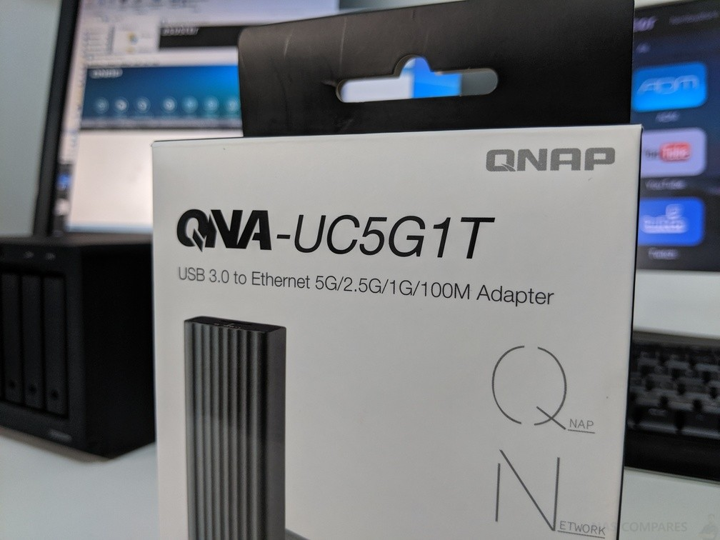 QNAP QNA-UC5G1T USB 3.0 TO 5Gbe Adapter