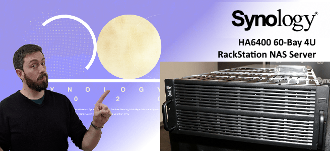 Synology HD6400 60-Bay Monster NAS 4U Rackmount - NAS Compares