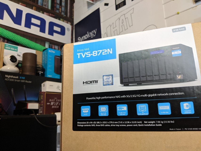 QNAP TVS-872N 5Gbs NAS Hardware Review - NAS Compares