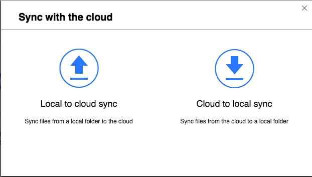 QNAP Hybrid Backup Sync -- Sync with the cloud