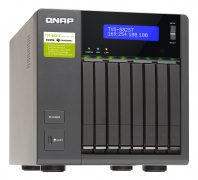 "Qnap Desktop NAS 10GbE+TB2 TVS-882ST2-i7-16G 8-Bay 2.5"", RAID 0/1/5/6 (16GB RAM, Core i7) + 10GbE + Thunderbolt 2"