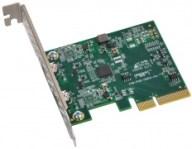 Sonnet Allegro Pro USB3.1 USB3C-2PM-E PCI-Express-v2-x4, 2x USB 3.1 USB-C; Mac/Windows