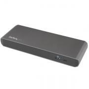StarTech Thunderbolt3 Docking Station TB3DKDPMAWUE 2x TB3 (USB-C), 1x DisplayPort, 3x USB3, LAN - Dual 4K - 15W - Windows & Mac