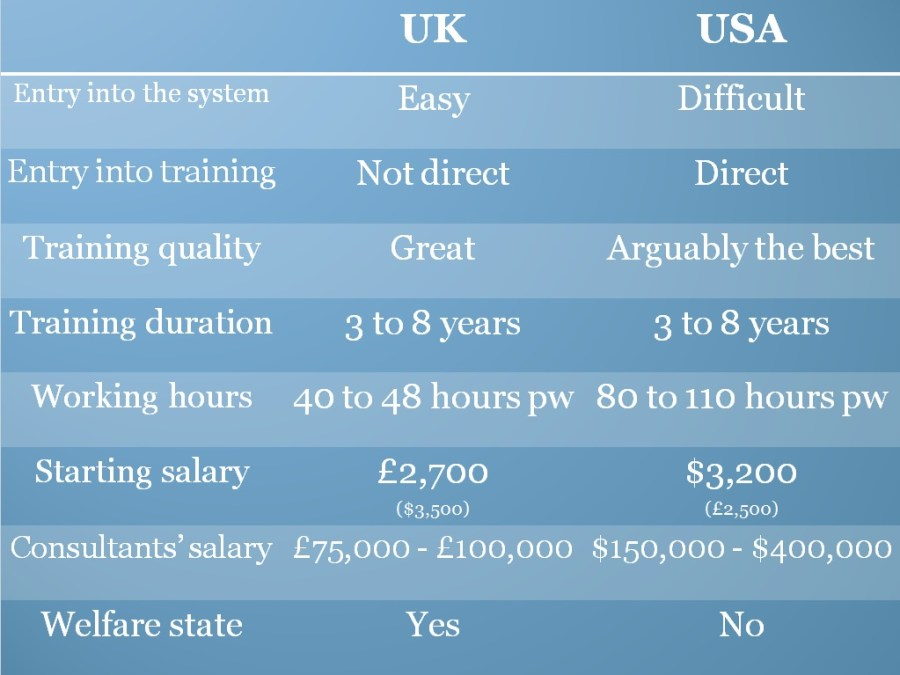 The UK vs the USA – Naseer's Journey