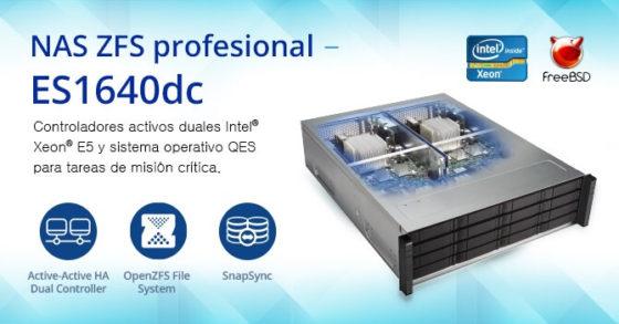 NAS Enterprise ZFS ES1640dc