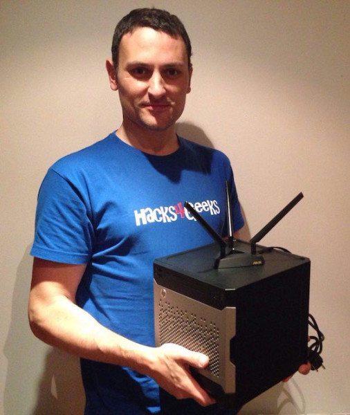 Router-NAS casero Nipegun