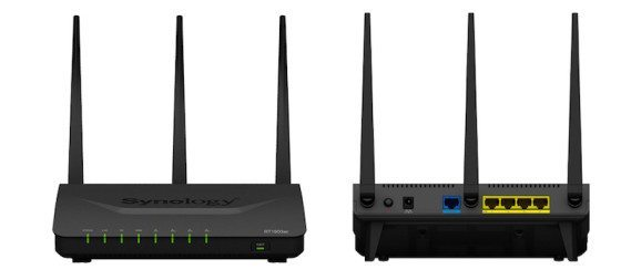Synology Router RT1900ac frontal