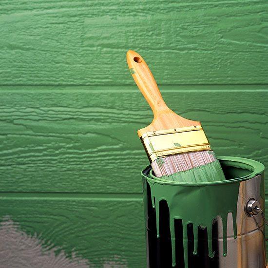Чем покрасить сарай на даче