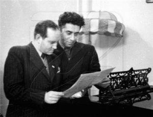 Давид Ойстрах и Арам Хачатурян