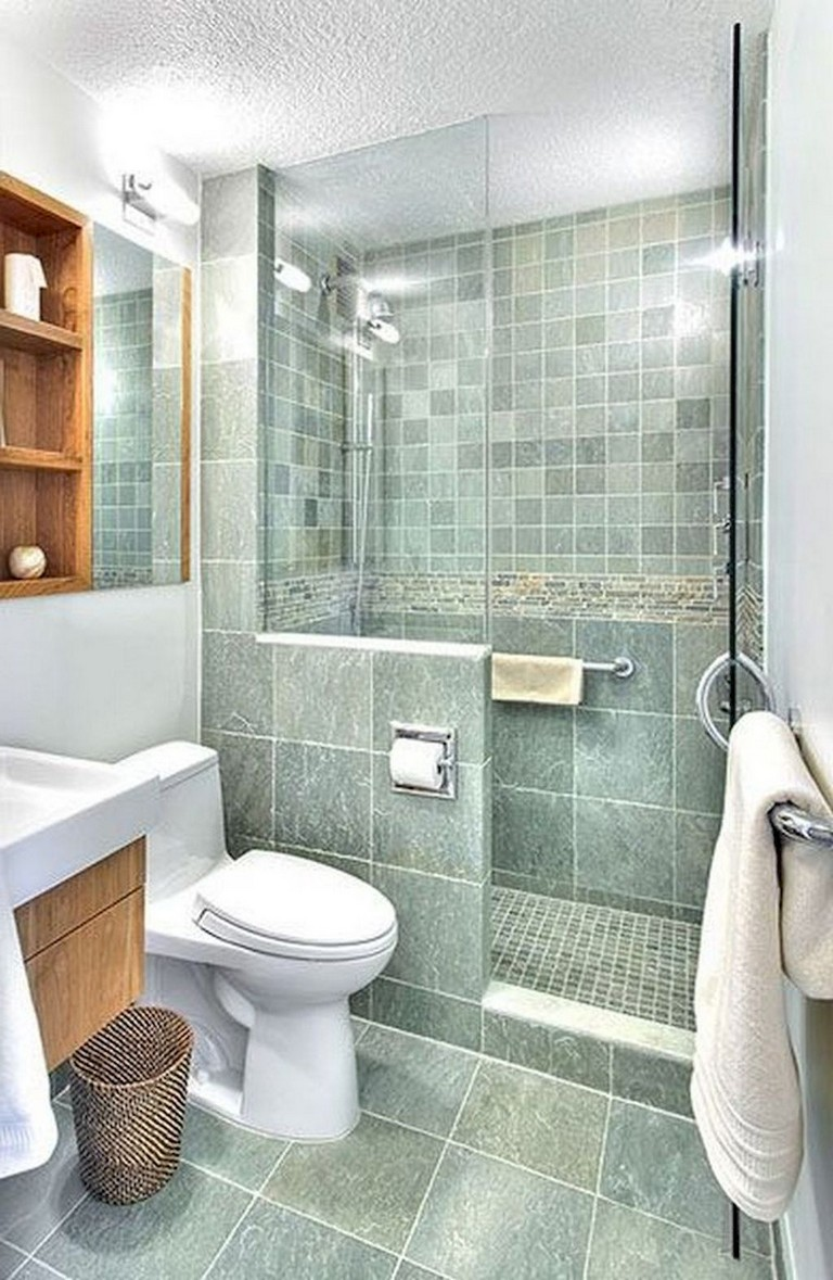 40+ Awesome Studio Apartment Bathroom Remodel Ideas   Page 3 of 41