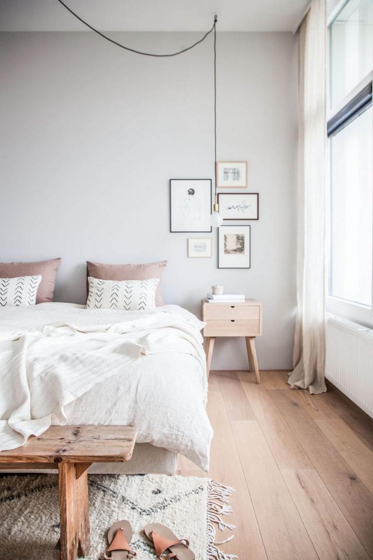 65 Elegant Modern Scandinavian Bedroom Ideas