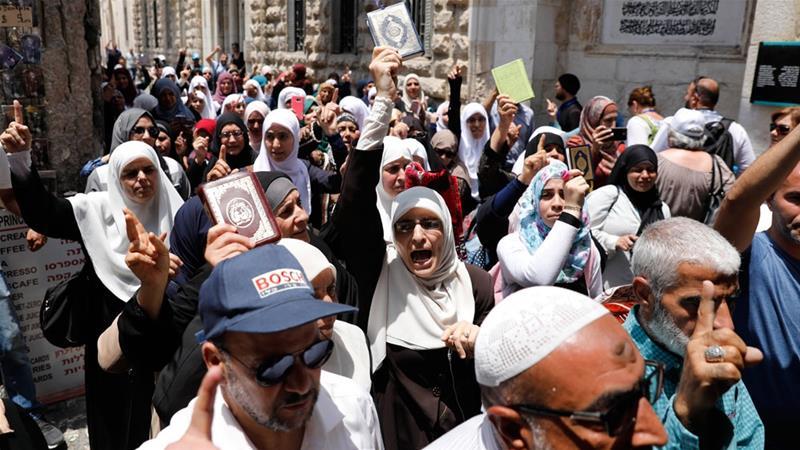 Jew Detector: Fresh Rallies Planned As Israel Weighs Al-Aqsa Security