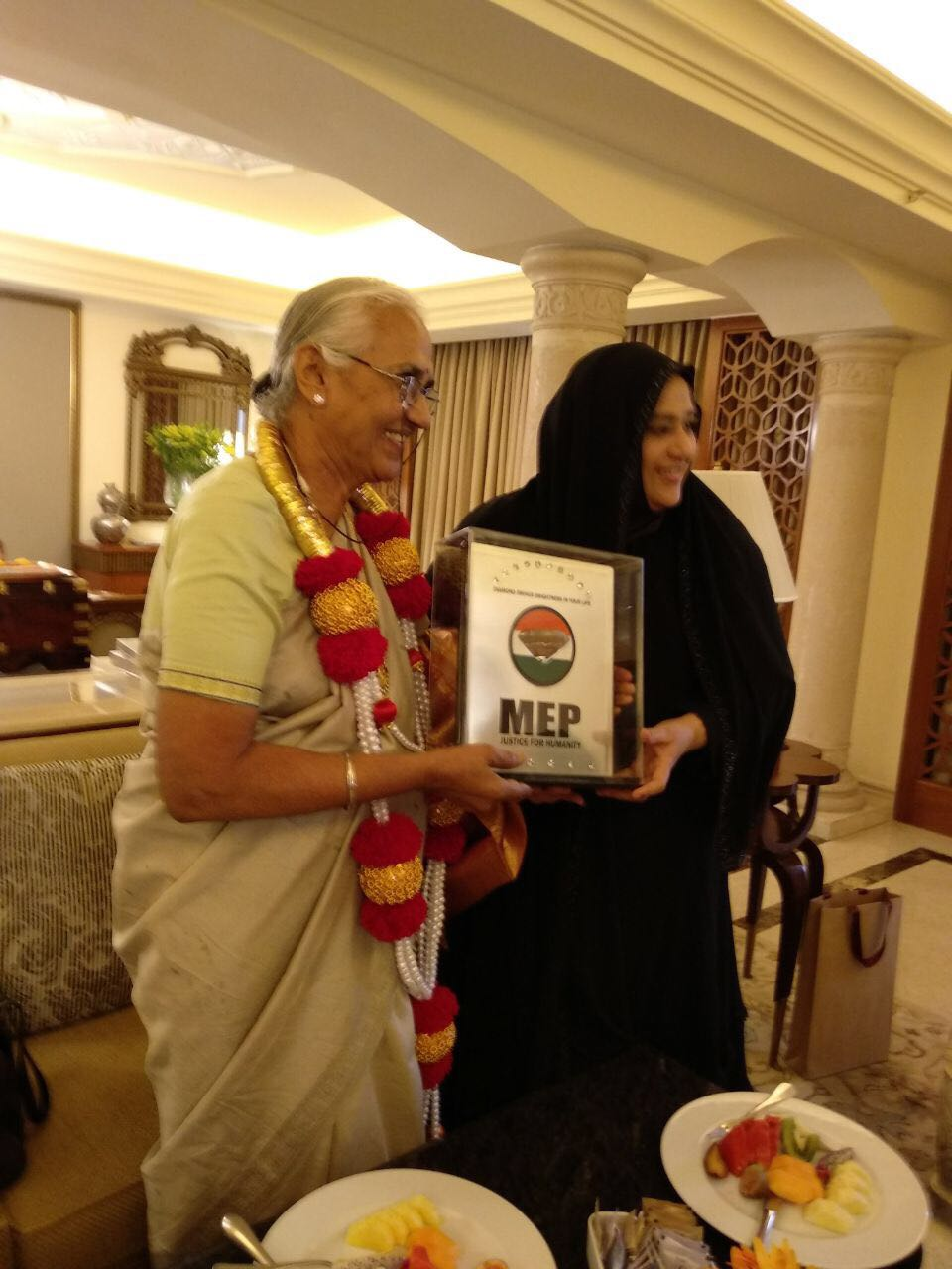 Former Minister B T  Lalitha Naik joins All India Mahila Empowerment