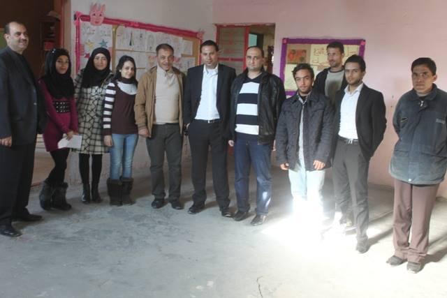 اللقاء الشبابي اللبناني الفلسطيني يزور جمعية ناشط الثقافية الاجتماعية