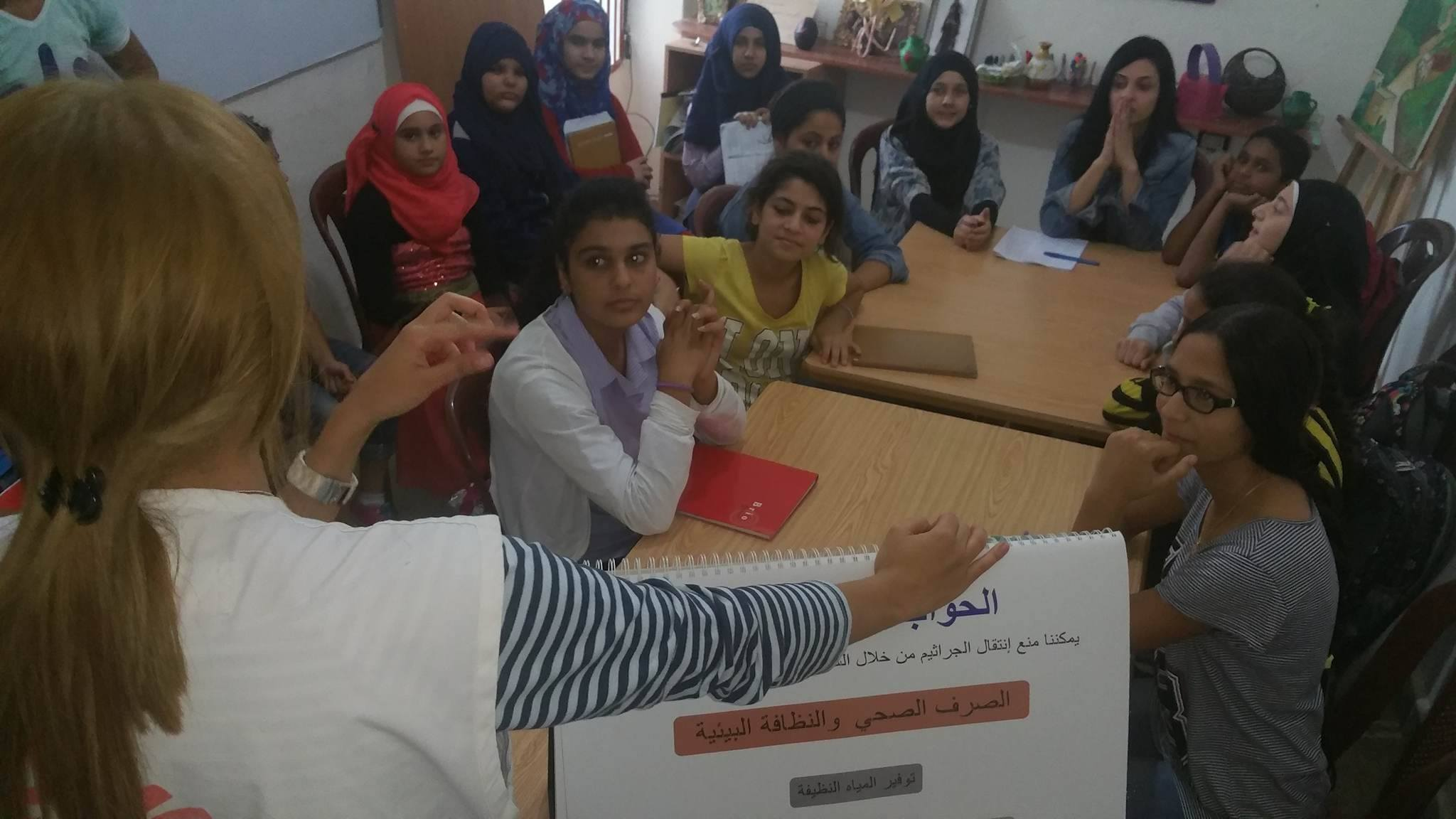 أطباء بلا حدود تنظم ورشة عمل صحيّة للمرّة الثالثة في جمعية ناشط