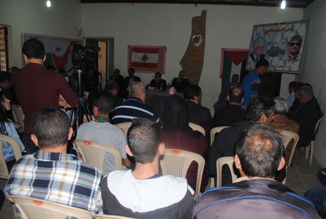 في ذكرى أبو عمّار ناشط تنظّم ندوة حواريّة حول دور الفصائل والعمل الشعبي