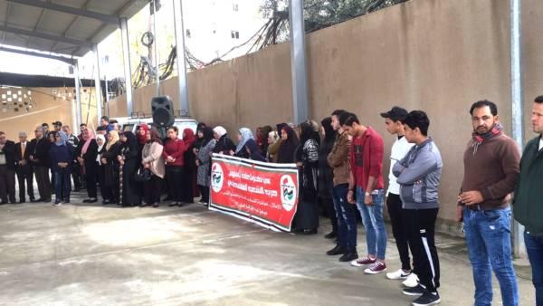 حزب الشعب الفلسطيني في صيدا يحي الذكرى الـ 36 لإعادة تأسيسه