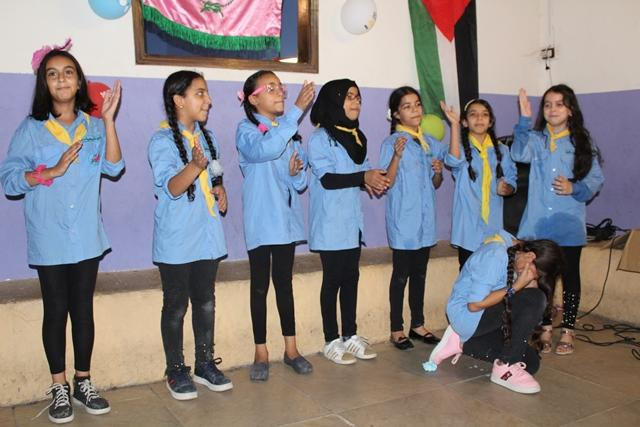 كشافة ناشط تنظم حفل تكريمي للمشاركين في المخيم الكشفي الثاني