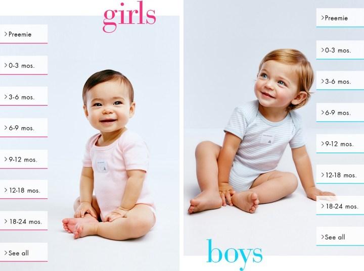 Пазаруване на бебешки дрехи онлайн