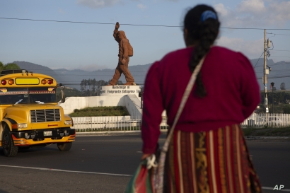 A Quiche indigenous woman