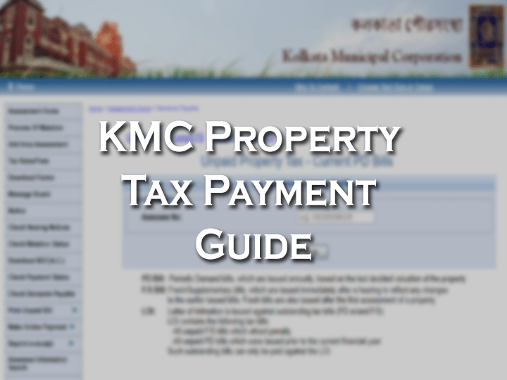 KMC Property Tax Payment Online