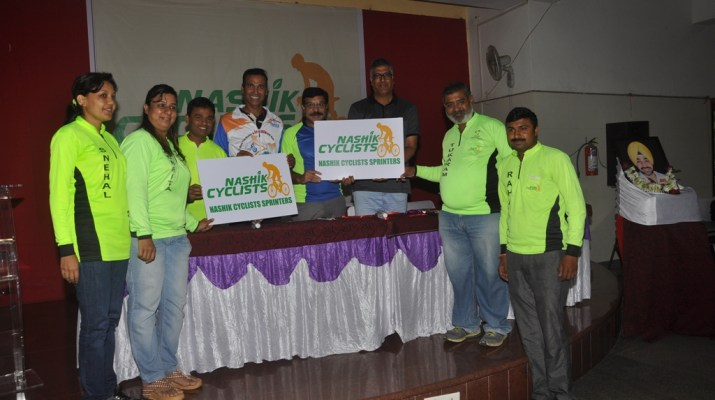 nashik cyclists sprinters for cycling as a sports in school