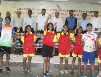 5th national jump rope championship nashik sports