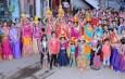 लासलगावी राजस्थानी महिला मंडळाच्या वतीने गणगौर उत्सवात साजरा
