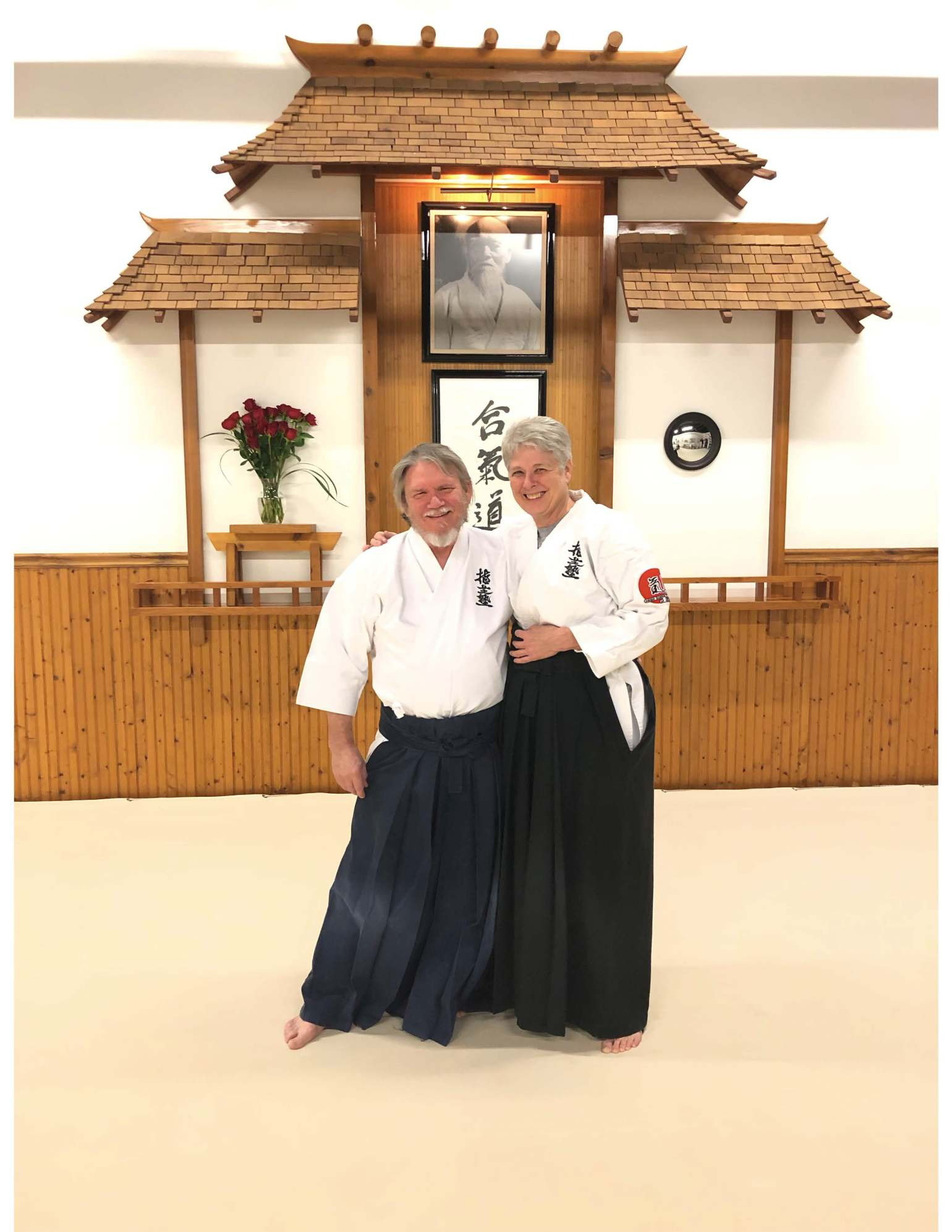 Tom and Mary Sensei
