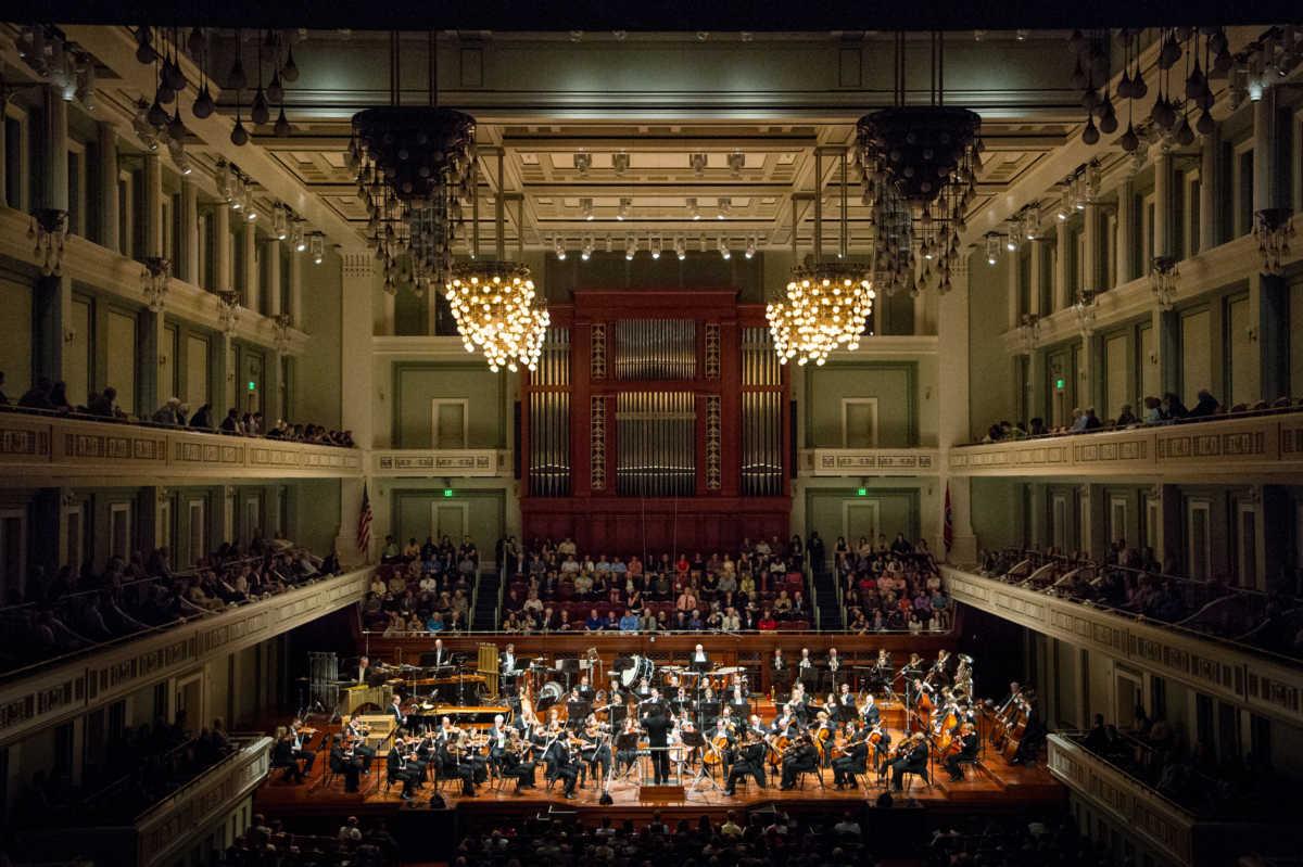 The Nashville Symphony Performs Verdis Requiem on the Violins of Hope