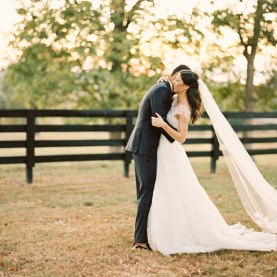 Fall Nashville wedding at Autumn Crest Farm featured on Nashville Bride Guide
