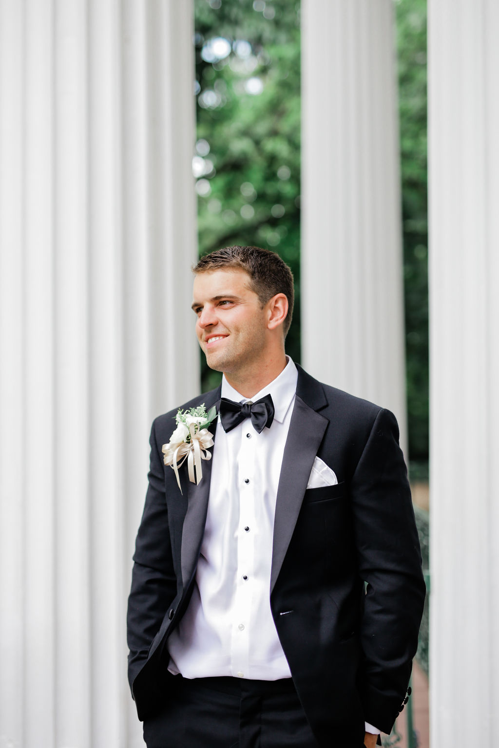 JoS A. Banks wedding tuxedo for Nashville wedding