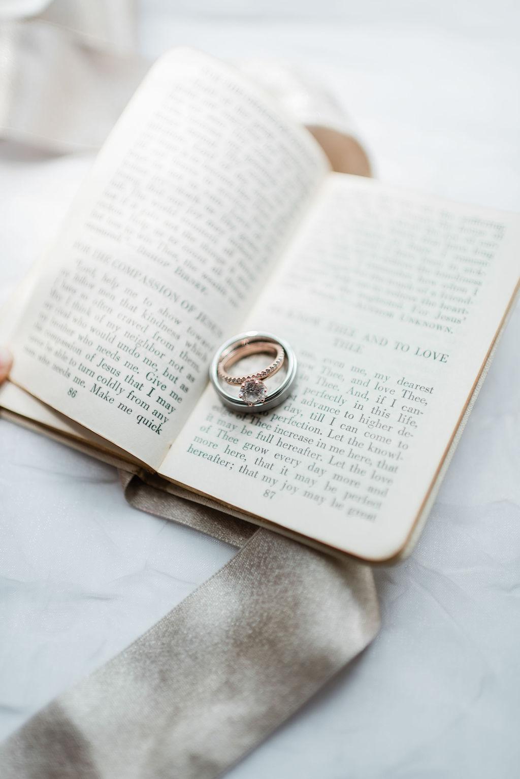 Wedding and engagement rings: Elegant Riverwood Mansion wedding featured on Nashville Bride Guide