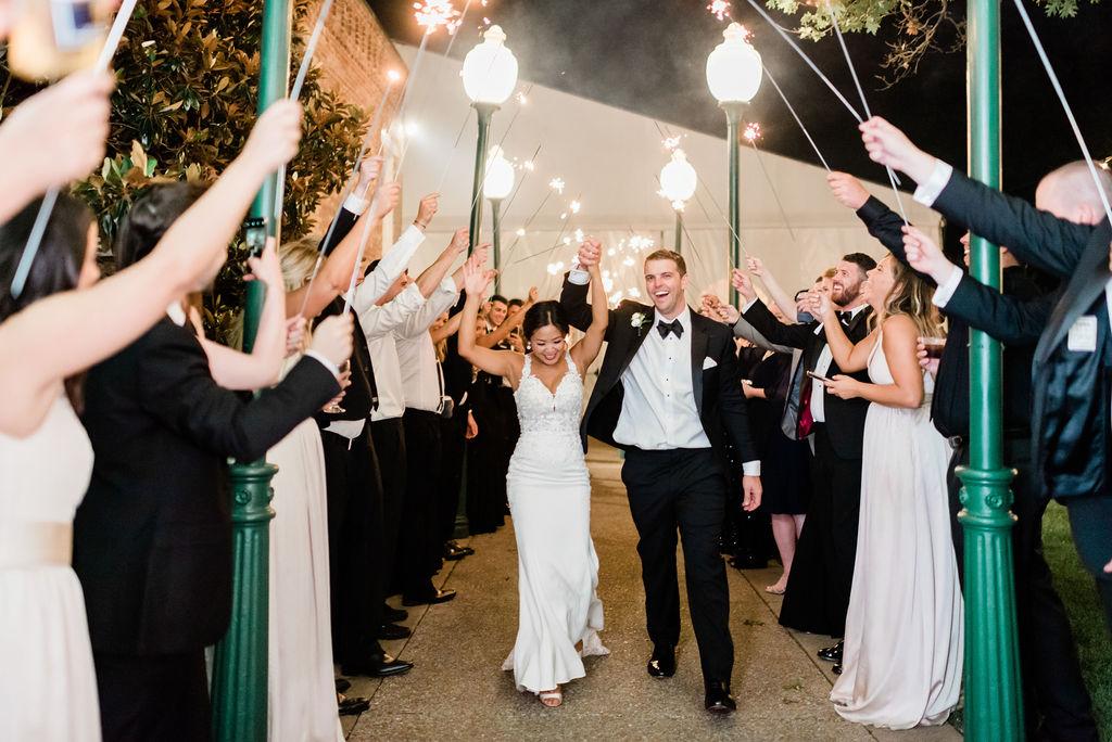 Sparkler wedding exit: Father/daughter dance for Nashville Wedding captured by Maria Gloer Photography