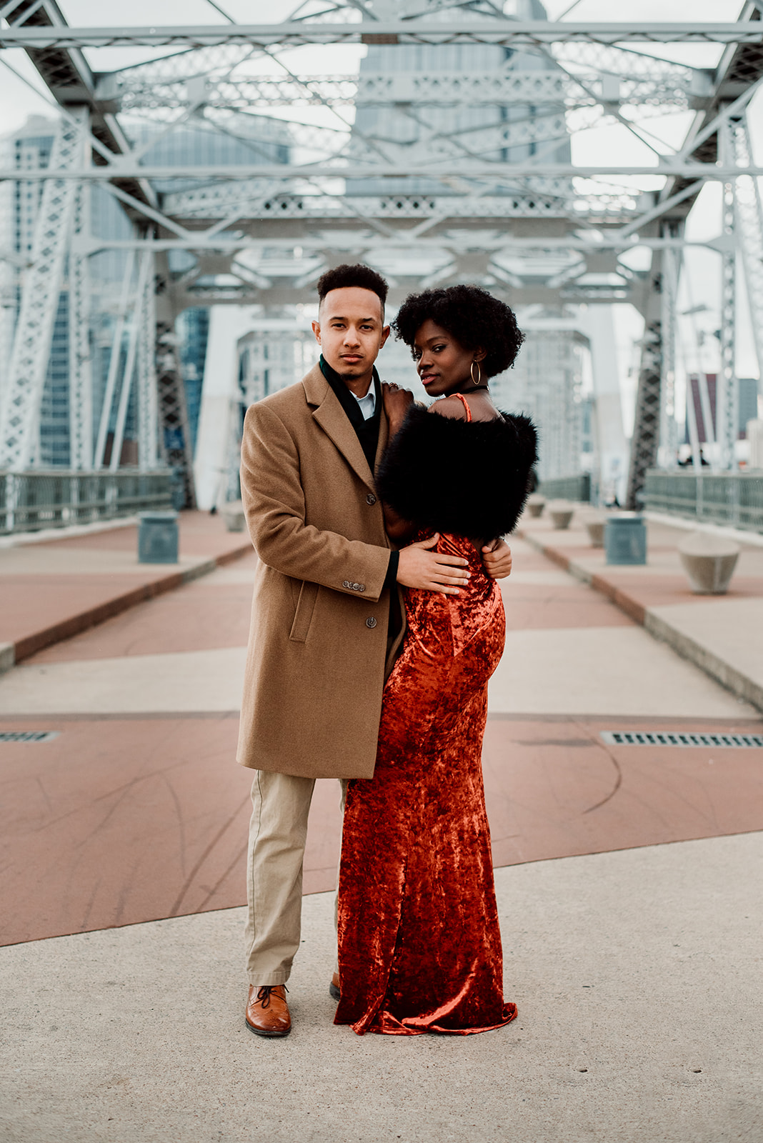 Hip Engagement Session by Foxtail Photography featured on Nashville Bride Guide