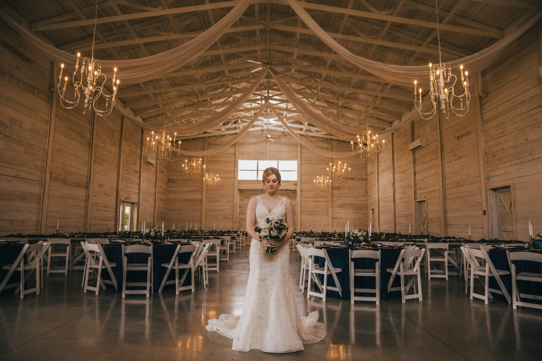 Bridal portrait: White Dove Barn Wedding by Grace Upon Grace Photography featured on Nashville Bride Guide