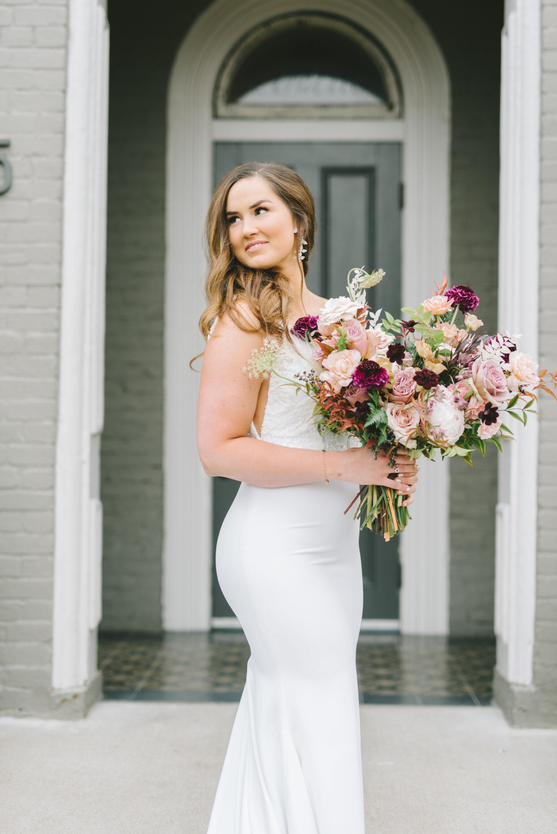 Blue and Mauve Wedding at The Cordelle   Nashville Bride Guide