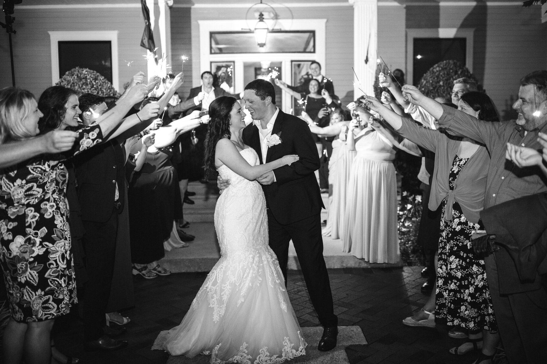 Sparkler wedding exit   Nashville Bride Guide