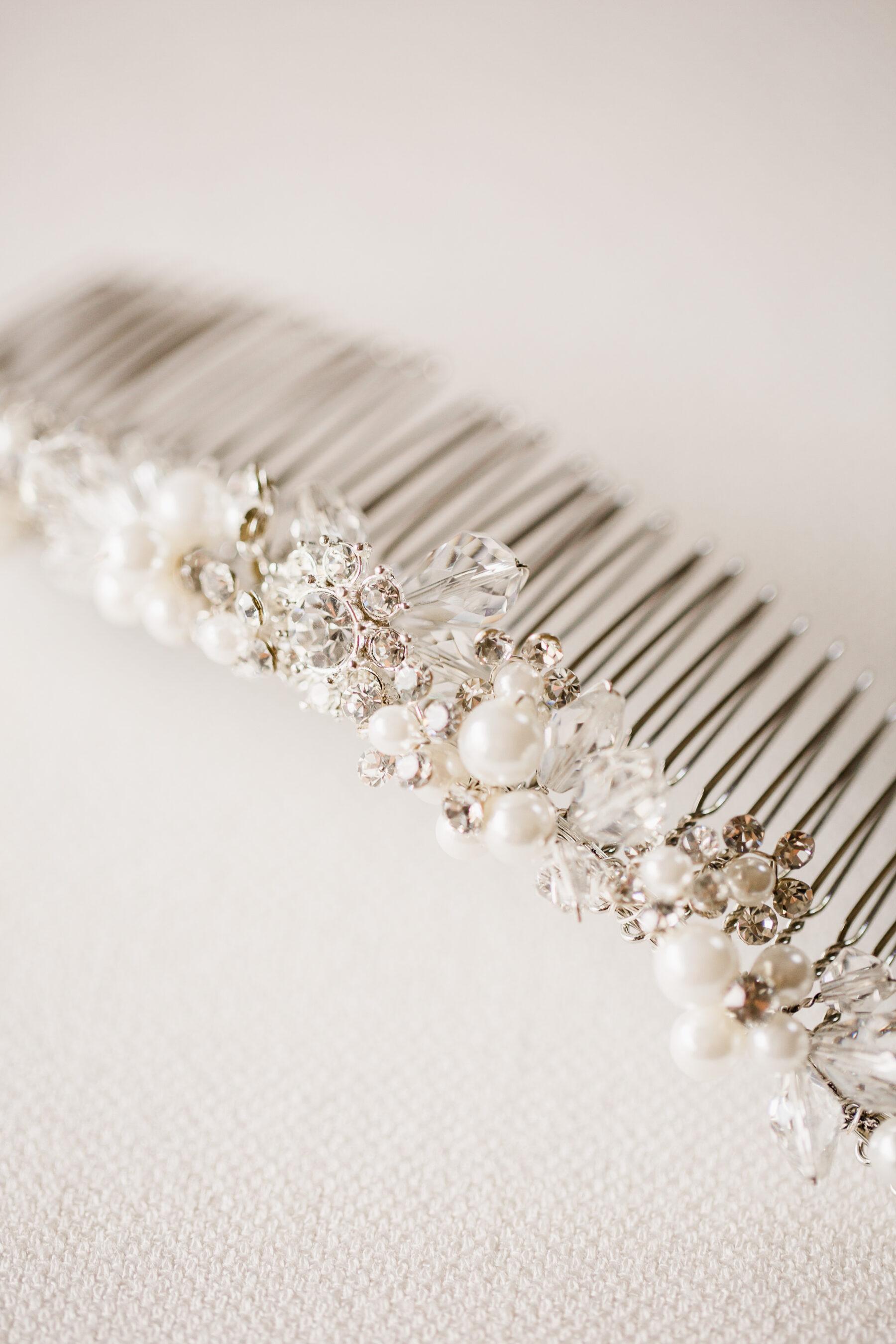 Bel Aire Bridal hair accessory   Nashville Bride Guide