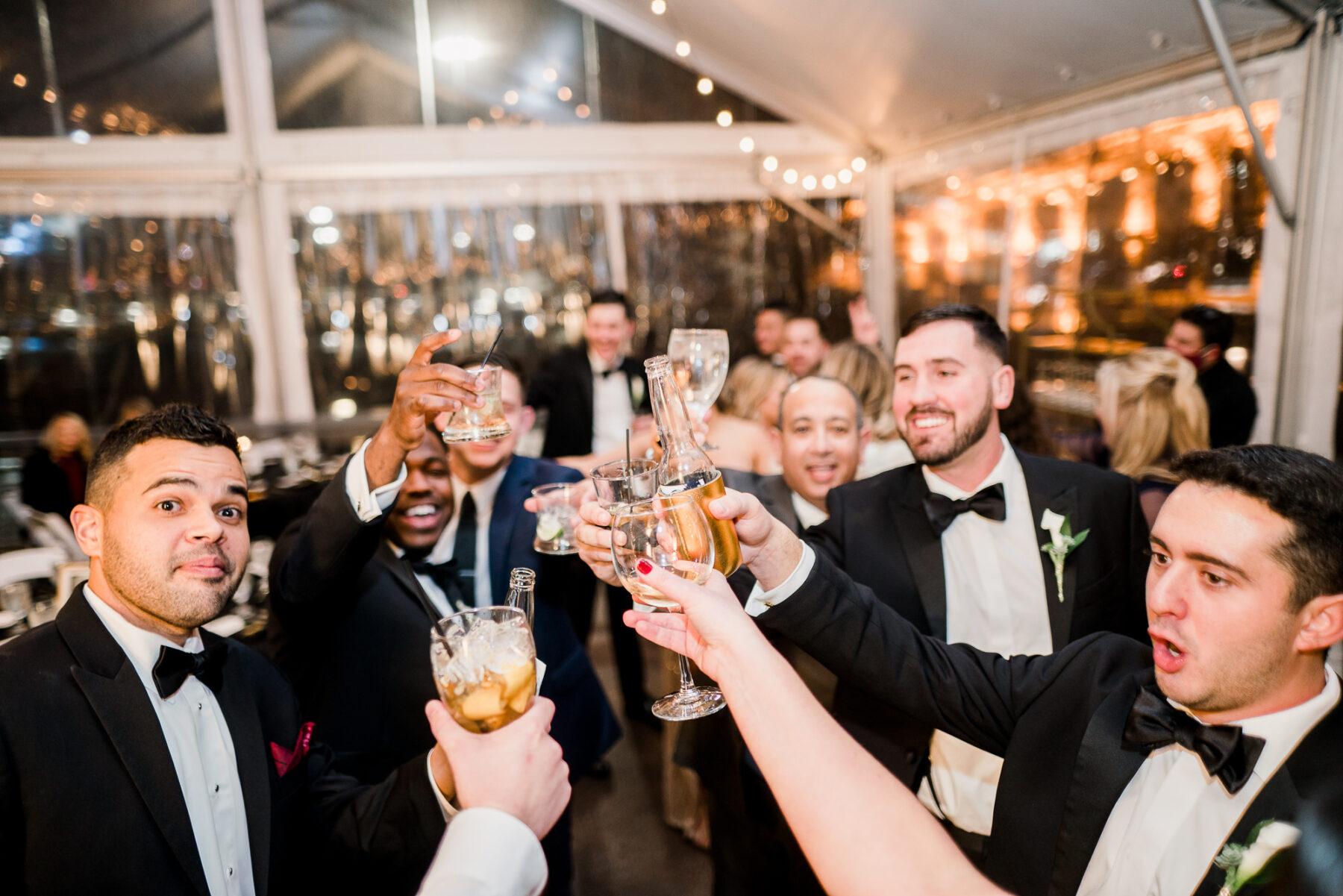 Glamorous Winter Wedding at The Bride Building   Nashville Bride Guide