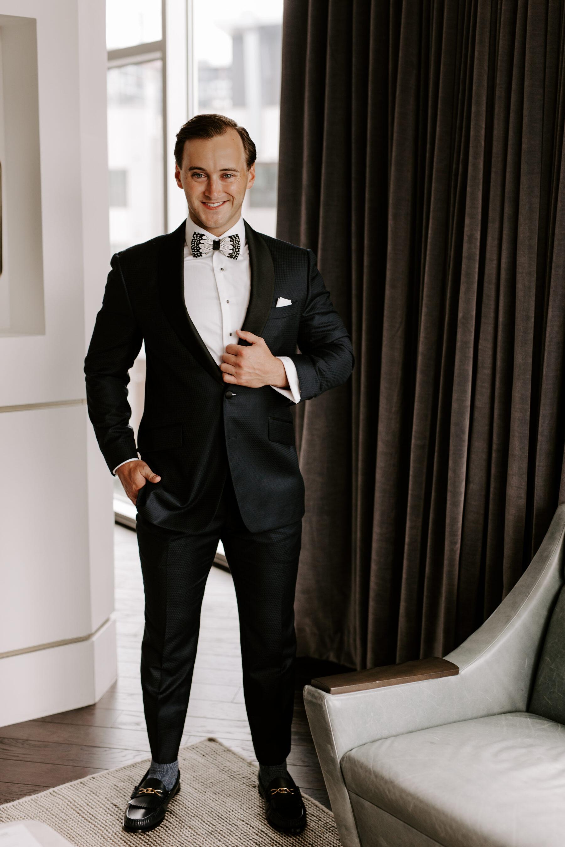 Stylish groom's attire | Nashville Bride Guide